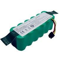 Batteria per Kitfort KT504 Haier T322 T321 T320 T325/Panda X500 X580 X600/Ecovacs Specchio CR120/Dibea x500 X580 Robot Aspirapolvere|Batterie di ricambio|   -