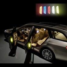 4 шт. предупреждающий знак светоотражающая лента универсальные внешние аксессуары наклейки для дверей автомобиля для Buick Excelle XT GT