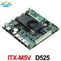 D525 FIREWALL MOTHERBOARD ITX-M5V con 4 puerto ethernet 6 * USB/2 * COM/DC12V TDP13W