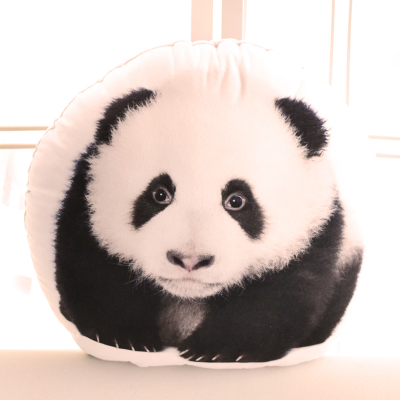 cute 3D plush panda toy plush animal panda pillow gift about 48x42cm 110cm cute panda plush toy panda doll big size pillow birthday gift high quality