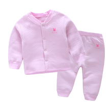 YiErYing Newborns Clothing Leisure Long Sleeve Pure Color Cotton T-shirt+Pants Baby Boys Girls Clothes Sets Baby Clothing Suits children clothing sets baby kids boy hoodie pure cotton long sleeve streetwear style clothing printing suits boys sweater black