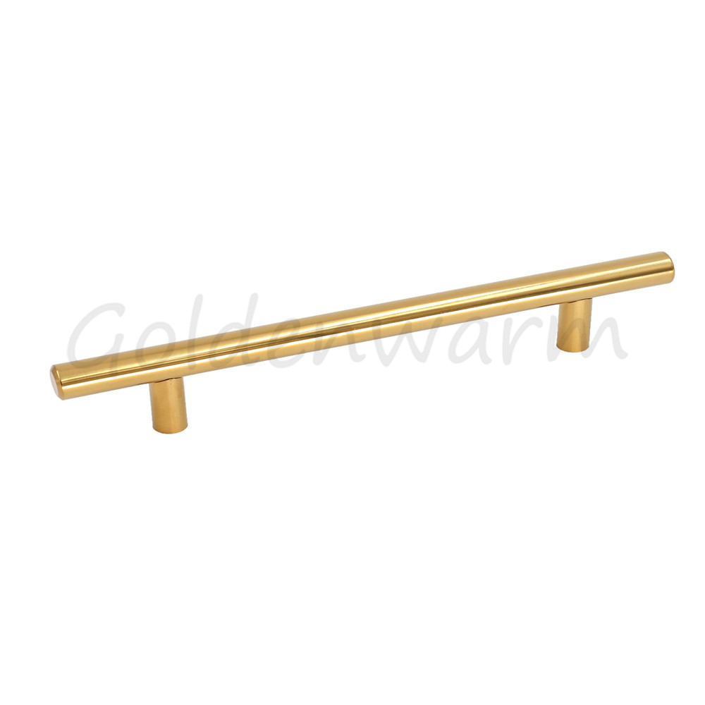 Polished Brass Drawer Pulls Gold 2.5 inch ~10 inch Hole Space ...