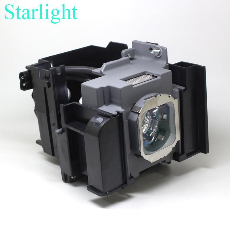 Kompatybilny ET LAA410 dla PANASONIC PT AT5000 PT AT6000 PT AE7000U PT AE8000U PT AE8000 PT HZ900C lampa projektora z obudową w Żarówki projektora od Elektronika użytkowa na  Grupa 1