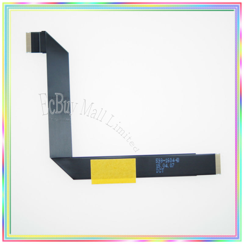 New Original For 2013 2014 years MacBook Air 13.3 A1466 Trackpad Touchpad Flex Ribbon Cable 593-1604-B new topcase with tr turkish turkey keyboard for macbook air 11 6 a1465 2013 2015 years