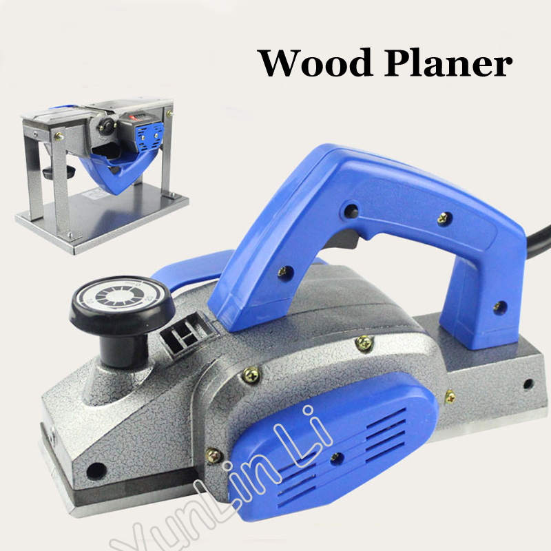 220V Wood Planer 1000W High-Power Woodworking Bench Planer Multi-Function Electric Planer цена и фото