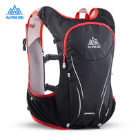 AONIJIE E906S 5L Upgraded Outdoor Running Bag Gym Bags Marathon Reflective Backpack Hydration Backpacks Vest Pack