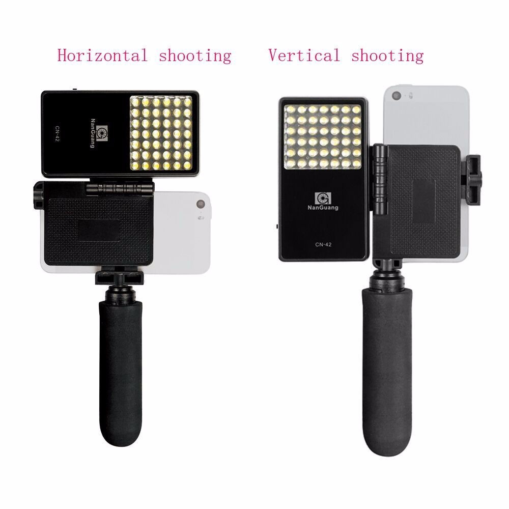 Nanguang CN 42 2.5W 222LM portable selfie Cellphone Photography LED Light Panel Lighting for iPhone Sumsung Sony Phone-in Photographic Lighting from ...  sc 1 st  AliExpress.com & Nanguang CN 42 2.5W 222LM portable selfie Cellphone Photography ... azcodes.com