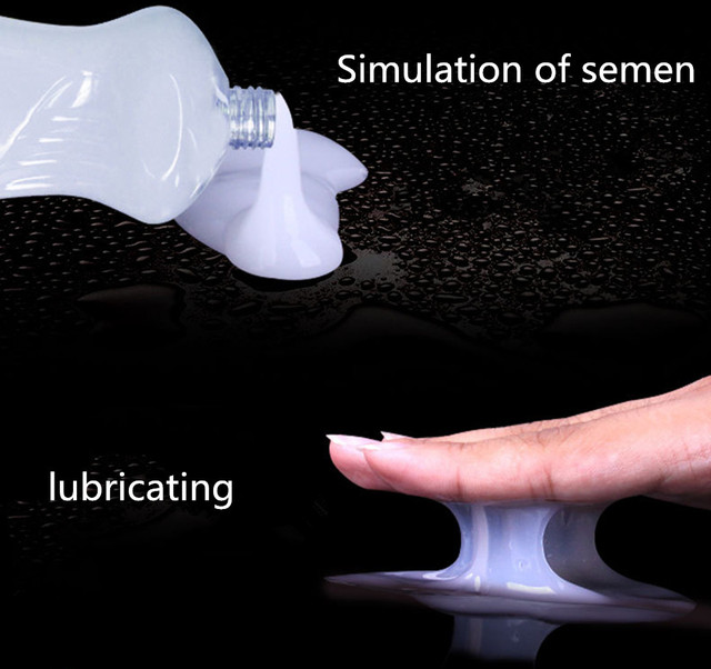 Simulate Semen 500ML Japan Lube Products lubricant for sex  Water Base Personal Sex Oil Vagina Anal Sex Gel For Gay Lubricants