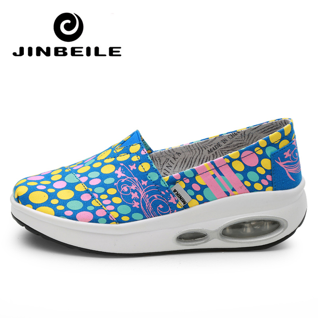 Us 42 1 Summer Platform Wedge Sneakers Shoes Slimming Shoes Air Cushion Sole Ladies Swing Shoes 4 5 Cm Height Increase Toning Shoes In Walking Shoes