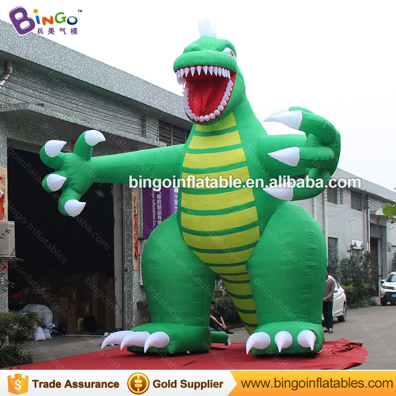 green giant inflatable dinosaur balloon decoration for events-inflatable toy giant inflatable balloon for decoration and advertisements