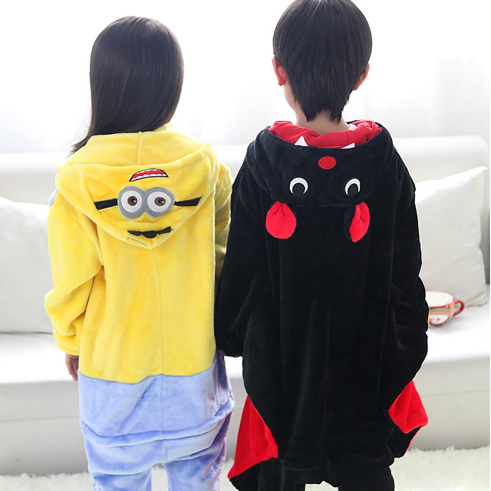 0d520d149 Kids Baby Despicable Me Minion onesies cosplay pajamas boys girls ...
