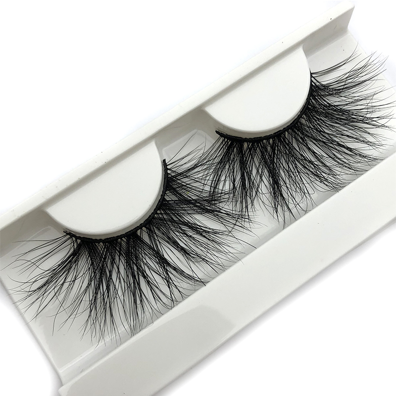 Mikiwi 25mm 3D Mink Lashes E04 100% Cruelty Free Thick Soft Natural 25mm Mink Lashes False Eyelashes Makeup Dramatic Long Lashes