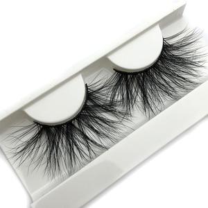 Image 1 - Mikiwi 25mm 3D Mink Lashes E04 100% Cruelty free Thick soft Natural 25mm Mink Lashes False Eyelashes Makeup Dramatic Long Lashes