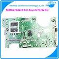 Motherboard para asus g73jw laptop ddr3 mainboard totalmente testado boa garantia 45 dias 2d conector placa de slots de memória 4 mb