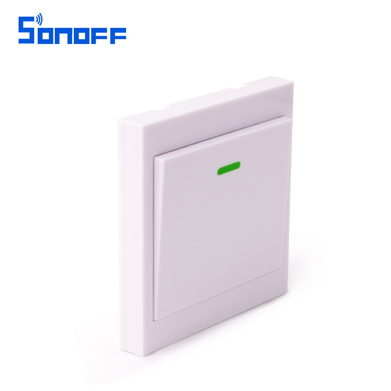 Sonoff wireless remote transmitter 1 channel sticky for The living room channel 0
