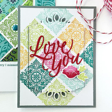 Eastshape Love You letters Dies English Letter Metal Cutting Stencil for DIY Scrapbooking decor Craft Paper Card Making
