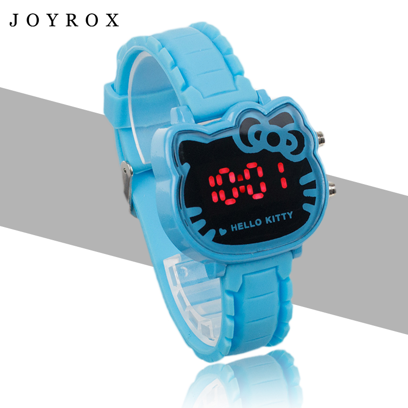 JOYROX Hot Hello Kitty LED Barneklokker 2018 Gummi Strap Child Watch - Barneklokker - Bilde 2