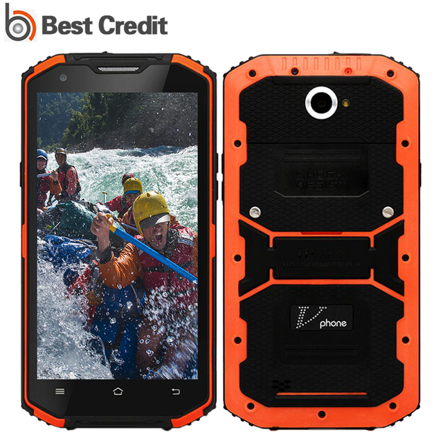 "Vphone X3 Mobile Phone Android 5.1 MTK6735 4G LTE 5.5"" HD 2G RAM 16G ROM IP67 Waterproof Shockproof 13M Camera 4500mAh No.1 X3"