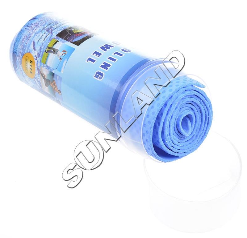 Sunland Vinyl Sports Kühltuch Workout Sweat Towel Kaltes Handtuch - Haustextilien - Foto 3