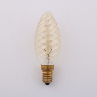C35 Vintage Loft Retro E14 Spiral Incandescent Light Novelty Fixture Edison Bulbs 25W 110 240V Pendant Lamps Lighting