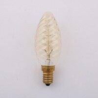 C35 Vintage Loft Retro E14 Spiral Incandescent Light Novelty Fixture Edison Bulbs 25W 110 240V Pendant Lamps Lighting