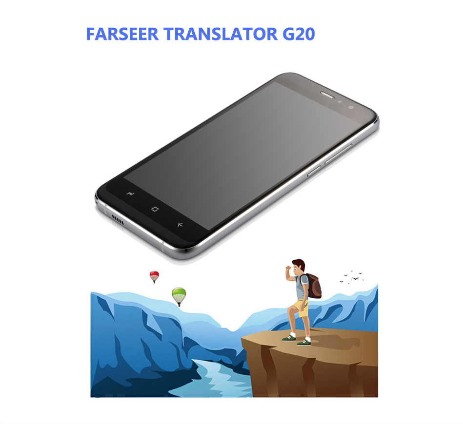 5 off-line G20 Two-Way simultaneous translator Andioid 6.0 1G/16G with camera Bluetooth wifi dictionary Quad-core processor