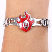 Bleach Rotated Fire Logo Bracelet
