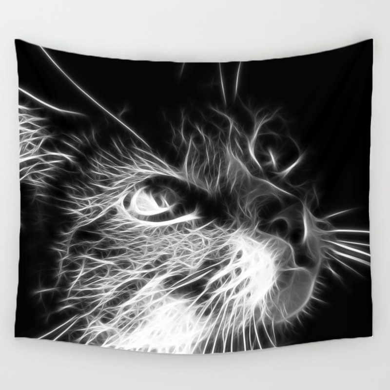 Cat Lovers Wall Tapestries 2