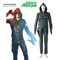 Free Shipping Costume Green Arrow TV Oliver Jonas Queen Arrow Battle Suit Uniform Film Cosplay Adult Costume