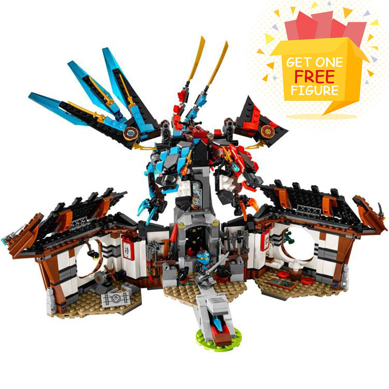 Bela Pogo Compatible Legoe Ninjagoe Thunder Swordsman Dragon's Forge Building Blocks Bricks Compatible With toys for bela bl10322 compatible legoe ninjagoe thunder swordsman building blocks bricks toys