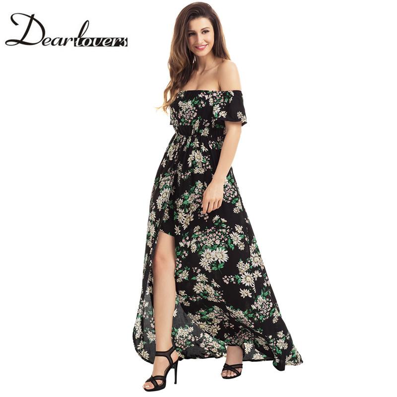 HTB1qYHwRXXXXXcJXpXXq6xXFXXXJ - Maxi Dress Floral Slit Romper Long Dress JKP062