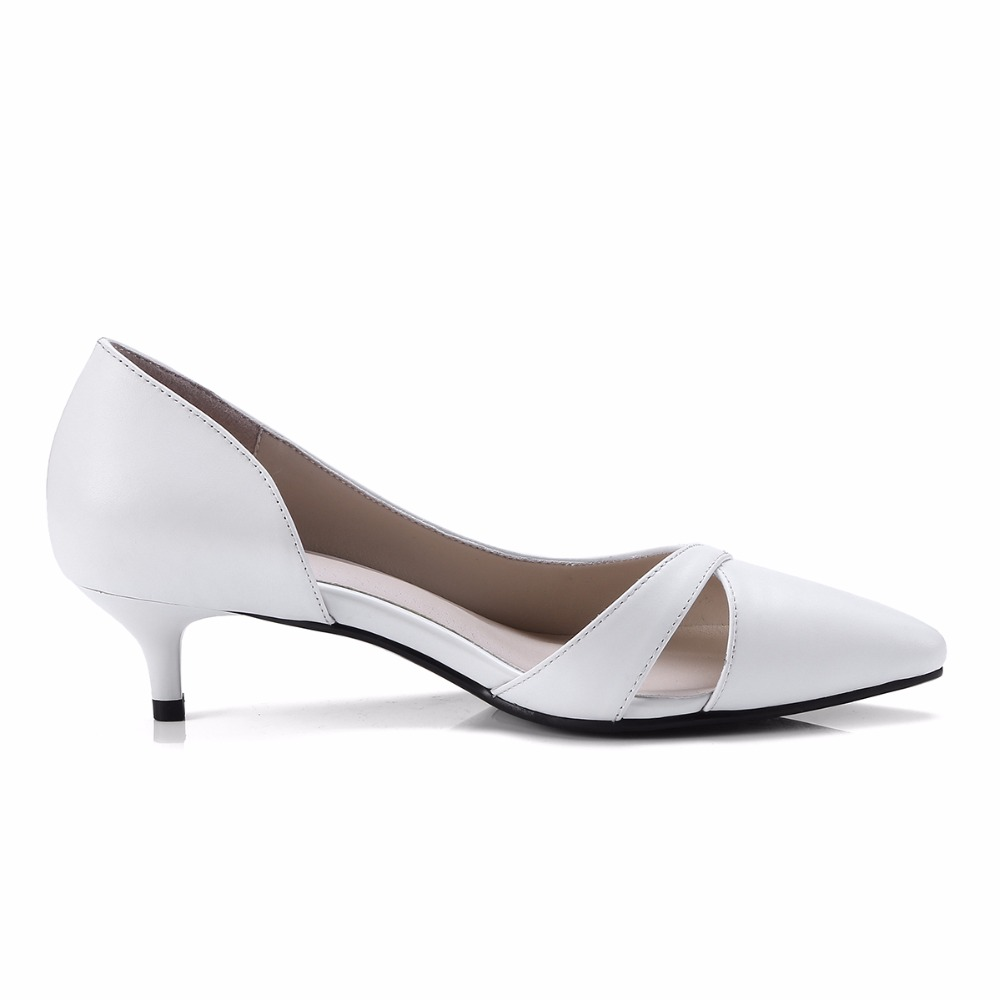 Véritable 4 Glissement La 33 Chaussures Petite Automne Pompes grey white Bureau Nouveau Furtado Sur En Inférieure Mode Arden 2018 Cm Taille Robe Printemps Talons Cuir Dame Black wOqfnvxC