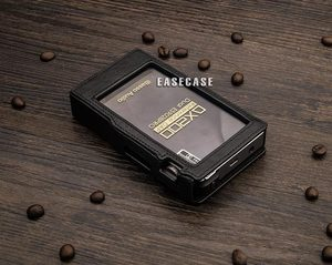 Image 4 - A6 Custom Made אמיתי עור מקרה עבור IBASSO DX200