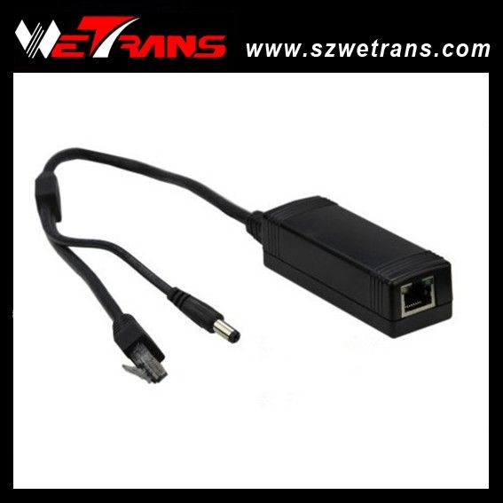 Wetrans POE External POE Splitter, IEEE.802.af and IEEE.802.3at 10/100Mbp high Power Cable DC 12V 2A kamaljeet kaur and gursimranjit singh crtp performance for voip traffic over ieee 802 11