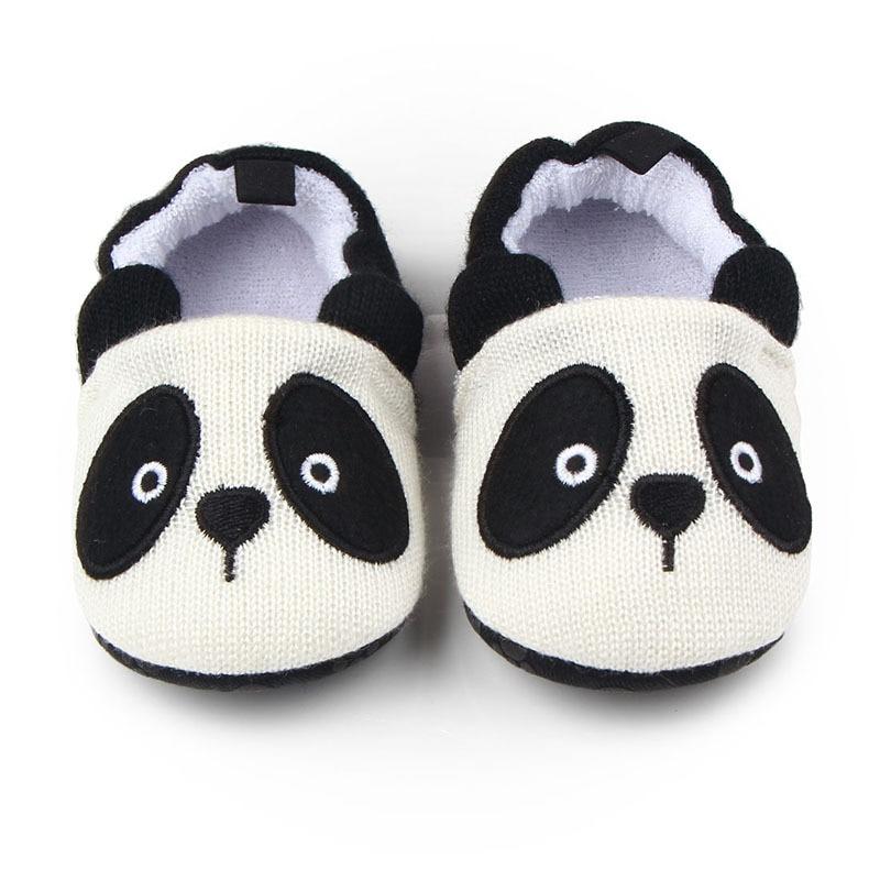 Милая детская обувь для младенцев для новорожденных мальчиков и девочек, вязаная панда, ручная работа - Цвет: 13
