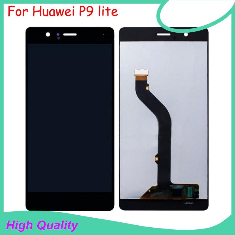 Para huawei p9 lite pantalla lcd reemplazo asamblea del digitizador de la pantal
