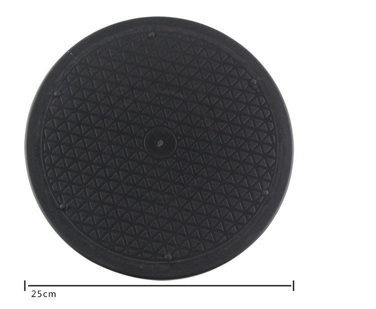 25cm Swivel Turntable Lazy Susans Rotary Plate Turnplate Clay Pottery Sculpture Tool Wheel Rotate