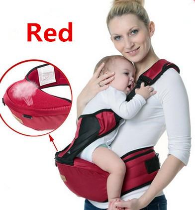 Promoção! Bebê portador de bebê sling suspensórios algodão orgânico envoltório hipseat porta mochilas infantil canguru para bebes