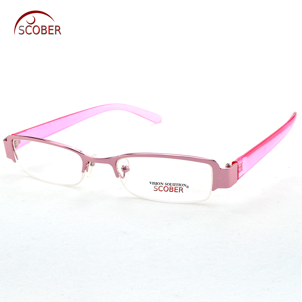 2019 Sale Leesbril = Scober ! Two Pairs Fashion Women Reading Glasses High-quality Alloy Tr90 Leg Spectacles +1 +1.5 +2 +2.5 +3