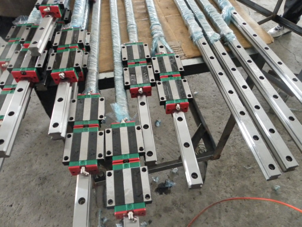 100% genuine HIWIN linear guide HGR15-2900MM block for Taiwan hiwin 100