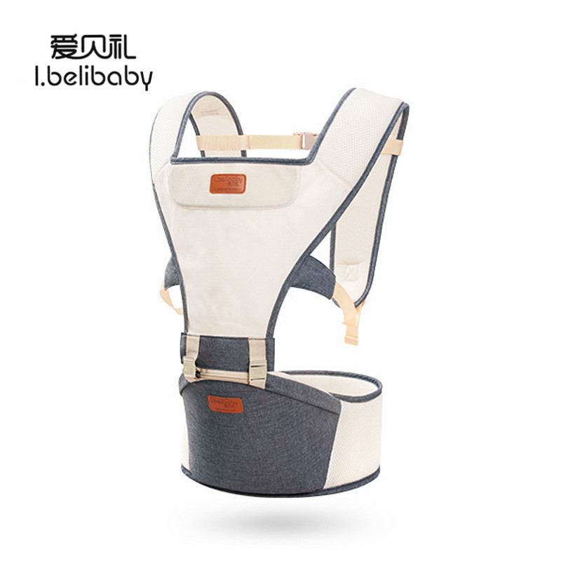 Ibelibaby Baby Carriers Breathable Mesh Sling For Newborns Organic Cotton Baby Waist Carrier Odorless Waist Stool