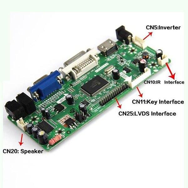 M.NT68676.2A HDMI DVI VGA AUDIO LCD/LED Controller Board LVDS DIY Reuse Laptop DIY panel 12.1-55 V420H1-L05 1920*1080