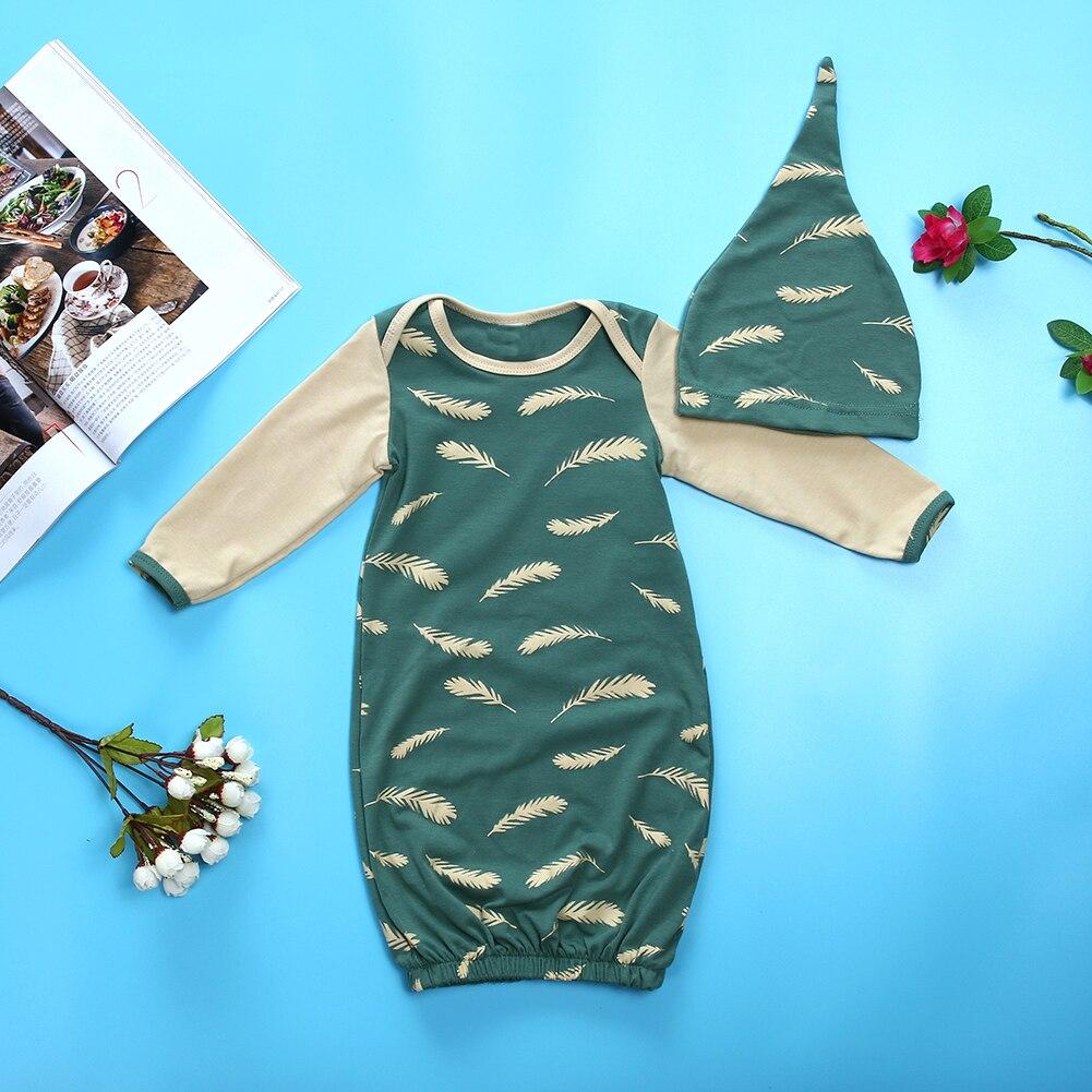 Baby Sleep Gowns Cute Soft Baby Sleepwear Boy Girl Pajamas Clothes ...