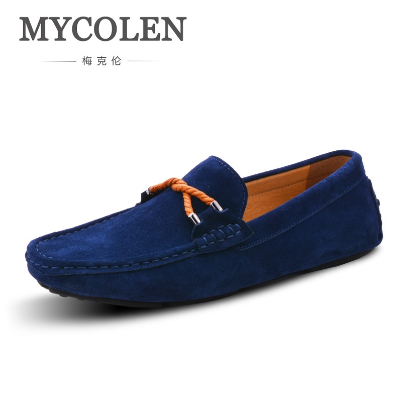 MYCOLEN Men Driving Shoes Casual Italian Red Loafers Luxury Brand Designer Flat Shoes Men High Quality Men Casual Shoes cbjsho brand men shoes 2017 new genuine leather moccasins comfortable men loafers luxury men s flats men casual shoes