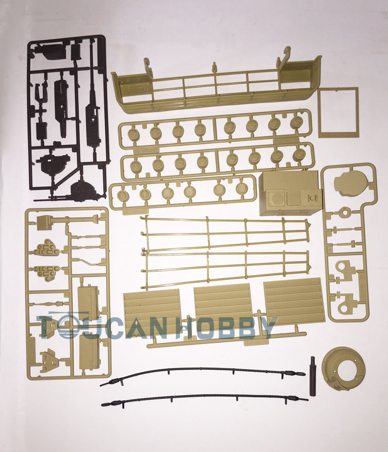 HengLong 1/16 Abrams M1A2 RC Tank Decoration Plastic Accessories Parts Bag 3918 abrams фотография