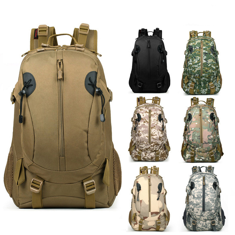 Camouflage military tactical backpack climbing bag Waterproof outdoor rucksack Hiking Camping Hunting Trekking nylon bags tactical outdoor nylon mobile phone bag for iphone 5 camouflage