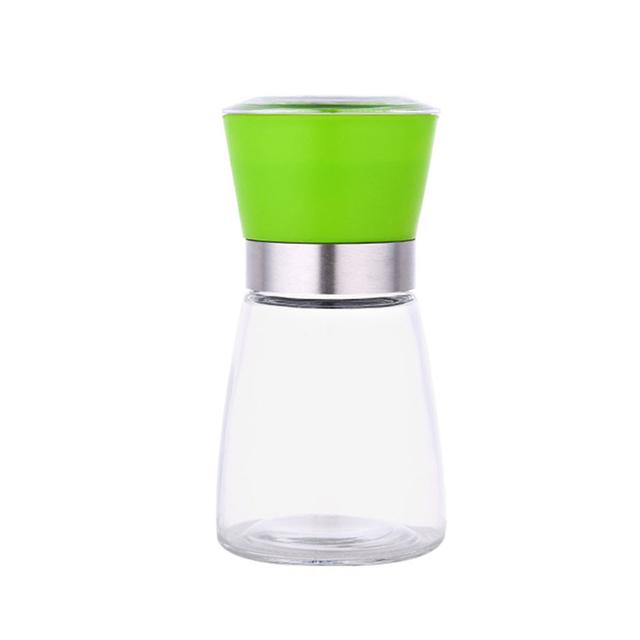Glass pepper grinder mill ceramic blade