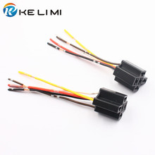 Universal Automobile Car Truck Relay Wiring Harness Socket 5Pin 5 Wire Adapter Plug Holder Connector (20pcs)