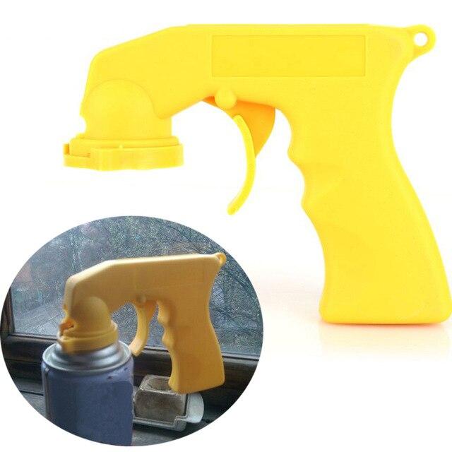 Gun-Handle Spray-Adaptor Paint-Care Locking-Collar Car Maintenance Full-Grip with Trigger