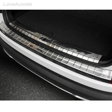 High Quality Stainless Steel Inner Outer Rearguards Rear bumper Trunk Trim Bumper Pedal For Skoda Kodiaq 2017 2018  Accessories недорого